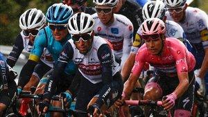 El pelotón sufrió en la jornada homenaje a Pantani