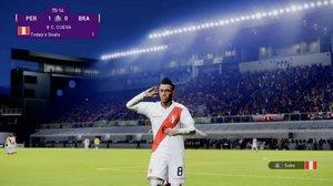 Perú y Brasil se enfrentaron en PES 2020