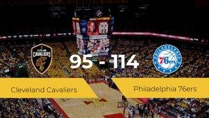 Philadelphia 76ers se impone a Cleveland Cavaliers por 95-114