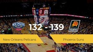 Phoenix Suns se impone a New Orleans Pelicans por 132-139