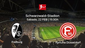 Previa del encuentro de la jornada 23: SC Freiburg - Fortuna Düsseldorf