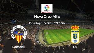 Previa del encuentro: el Sabadell recibe en su feudo al Real Oviedo