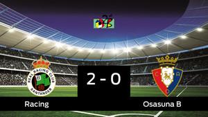 El Racing de Santander vence a Osasuna B por 2-0