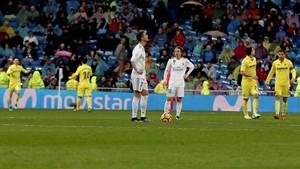 El Real Madrid encajó su tercera derrota en el Bernabéu en esta Liga