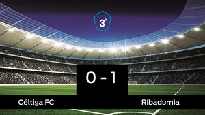 El Ribadumia vence al Céltiga en el Salvador Otero (0-1)
