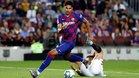 Ronald Araujo debutó en el Barça contra el Sevilla en el Camp Nou