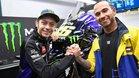 Rossi y Hamilton, estrellas de MotoGP y F1