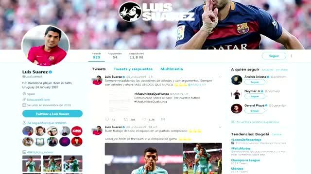 Suárez expresa apoyo a la huelga de futbolistas en Uruguay