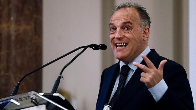 Tebas: España es el país que peor trata fiscalmente a sus futbolistas