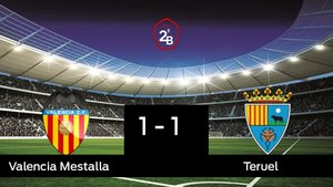 El Teruel consigue un empate a uno frente al Valencia Mestalla