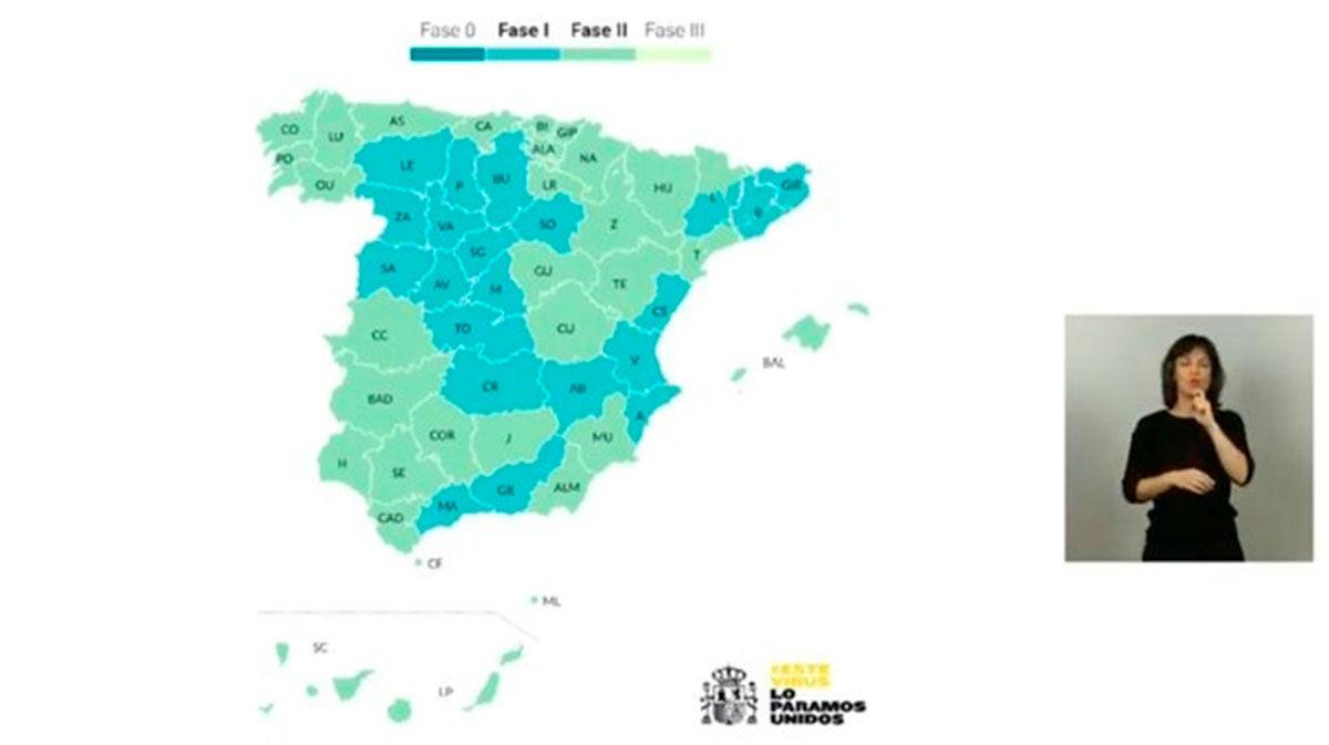 Toda España estará en desconfinamiento a partir del lunes próximo