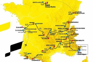 El Tour ha presentado su recorrido en 2020
