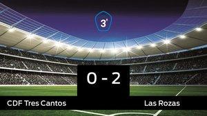 El Tres Cantos cae derrotado ante Las Rozas por 0-2