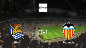 Valencia earned hard-fought win over Real 0-1 at Reale Arena