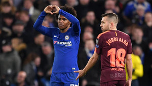 Valverde, enamorado de Willian