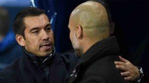 Van Bronkhorst trabajará con Guardiola