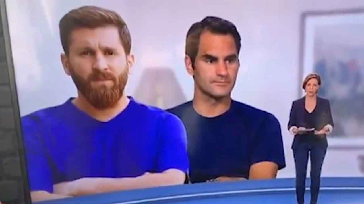 Ver para creer: la garrafal pifia de una televisión francesa al confundir una imagen de Messi con su imitador