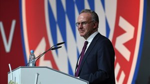 xortunobayern munich ceo karl heinz rummenigge gives a sp190531192217