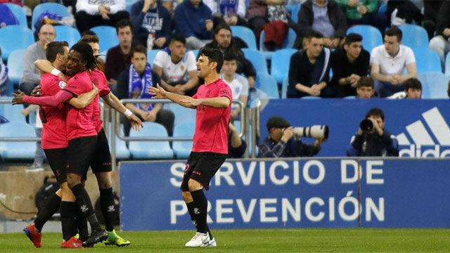 El Zaragoza no sale de la depresión con una nueva derrota contra el Alcorcón