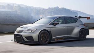 Cupra TCR de Seat, el coche de carreras cliente de la marca.