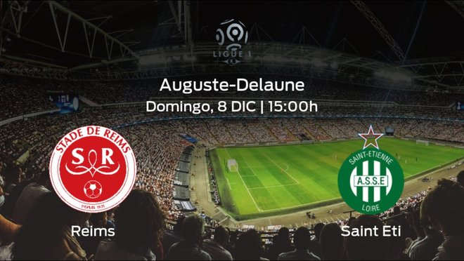 Jornada 17 de la Ligue 1: previa del duelo Stade de Reims - AS Saint Etienne