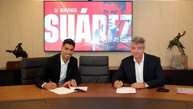 Oficial: Luis Suárez firma dos años por el Atlético de Madrid