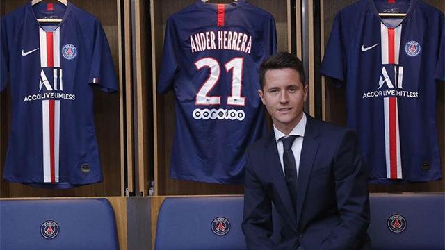 Ander Herrera, nuevo jugador del PSG