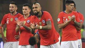 Arturo Vidal se clasificó para las semifinales