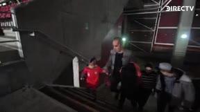 Arturo Vidal cumple el sueño del pequeño Adrián