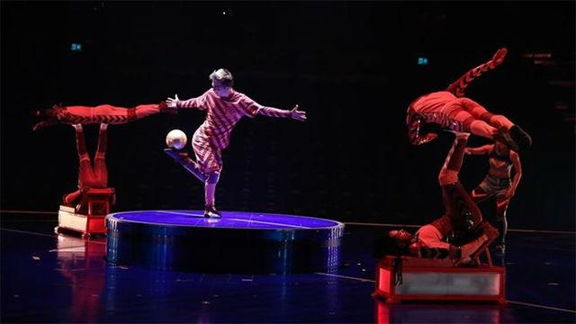 Así es el espectáculo de Cirque du Soleil basado en Messi