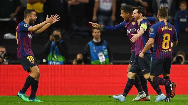 Así narró la radio el tempranero gol de Coutinho ante el Sevilla