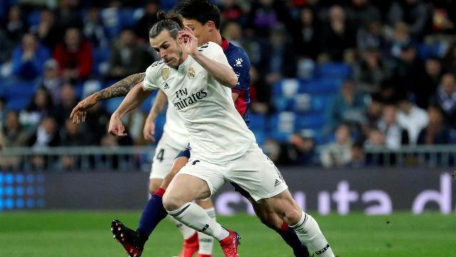 Bale fue pitado en el Bernabéu por fallar ocasiones como esta