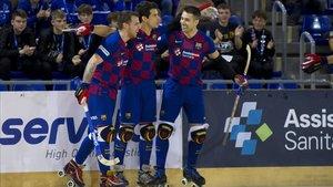 El Barça de hockey buscará un triunfo en la pista del Caldes
