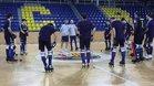 El Barça Lassa se ha entrenado este martes en el Palau
