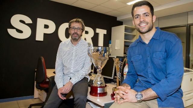 El Barça Lassa visita SPORT con la Copa
