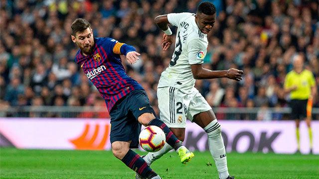 El Barça lleva más victorias que el Real Madrid en los Clásicos