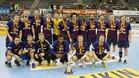 El Barça se proclamó Supercampeón de Catalunya