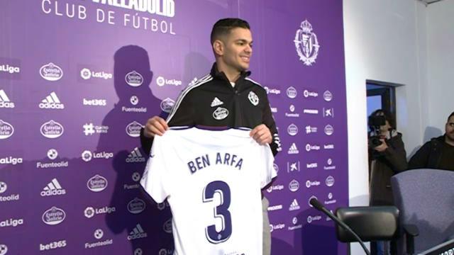 Ben Arfa ha sido presentado como jugador de Valladolid