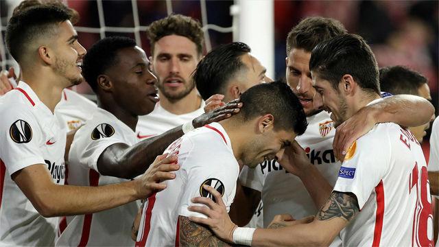Ben Yedder clasificó al Sevilla como primero de grupo