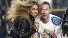 Beyoncé y Chris Martin actuaron al descanso de la Super Bowl