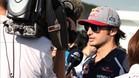 Carlos Sainz, muy decepcionado en Japón