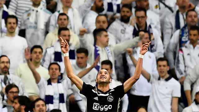 ¡Cazado el Real Madrid a la primera!. Así narró la radio el primer gol del Ajax