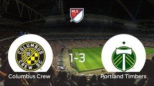 El Columbus Crew cae ante el Portland Timbers (1-3)