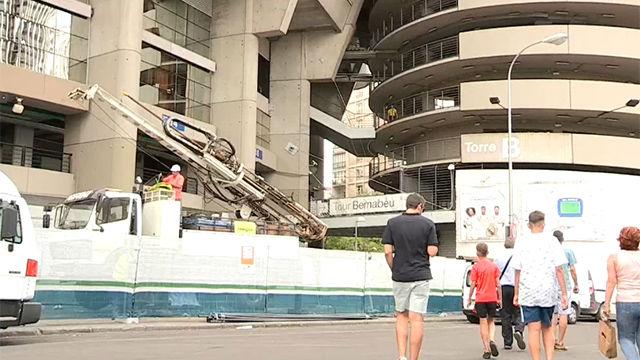 Comienza la transformación del Bernabéu