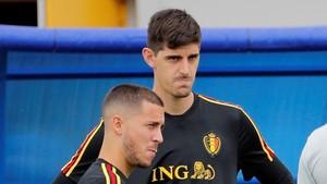 Courtois y Hazard han brillado en el Mundial