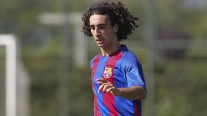 Cucu tuvo un plácido debut con el Barcelona B