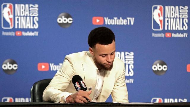Curry: Estoy orgulloso por la manera en la que hemos peleado hasta el final