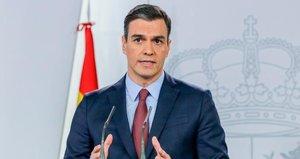 La emotiva frase de Pedro Sánchez al anunciar la prórroga del estado de alarma