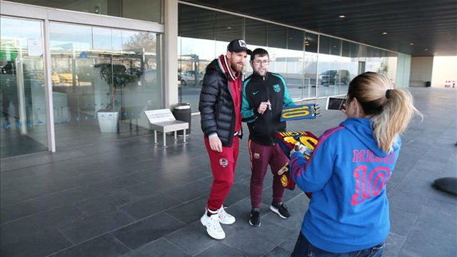 Escapada express de Messi para visitar a su gurú
