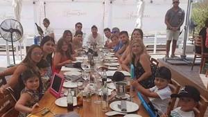 La familia Messi, al completo